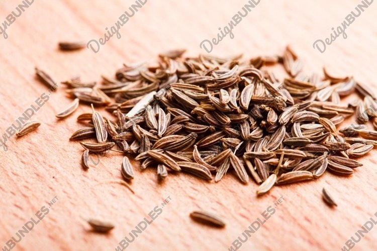 Caraway spice scattered example image 1