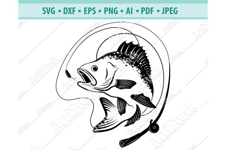 Download Bass Fishing Svg Fishing Svg Fishing Hooks Png Dxf Eps 442597 Svgs Design Bundles
