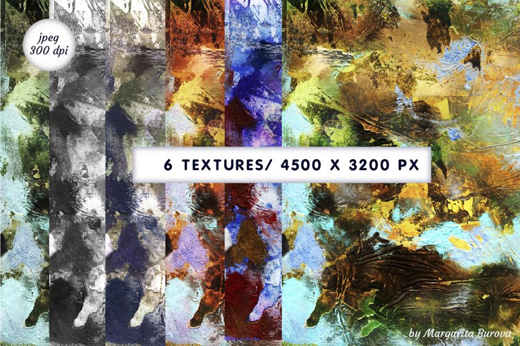Watercolour textures. Abstract background Digital paper