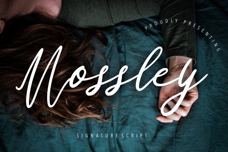 Mossley Signature Script example image 1