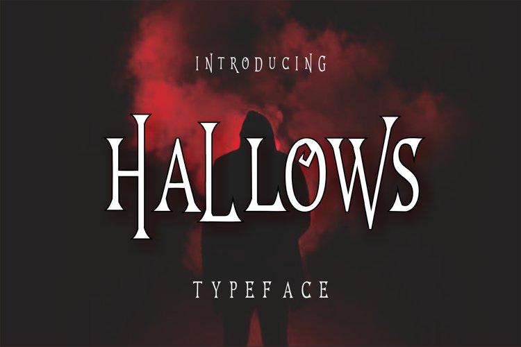 Hallows Typeface