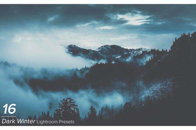 16 Dark Winter Lightroom Presets example image 1