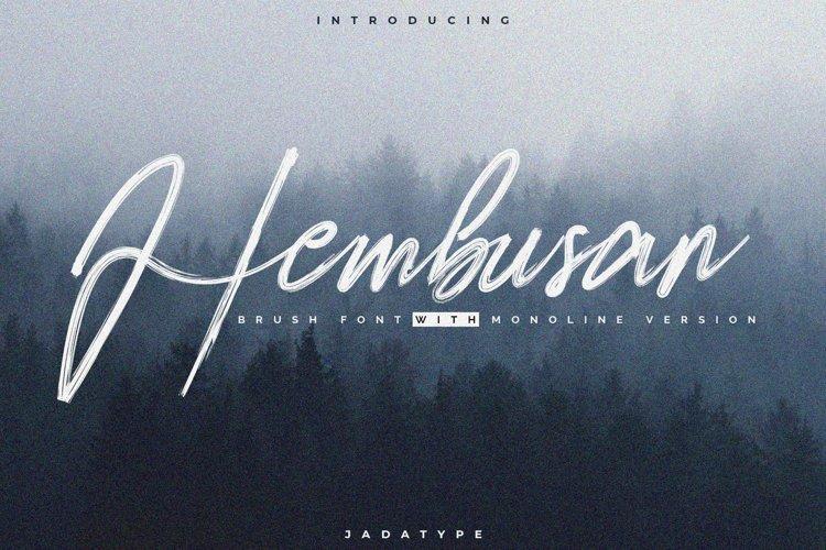 Hembusan example image 1