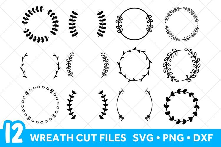 Laurel Wreath Svg Files For Cricut Floral Wreath Svg Bundle 412293 Cut Files Design Bundles