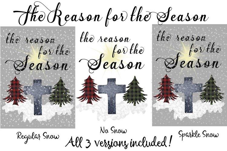 the Reason for the Season- Ready to Press 3 Design Set example image 1