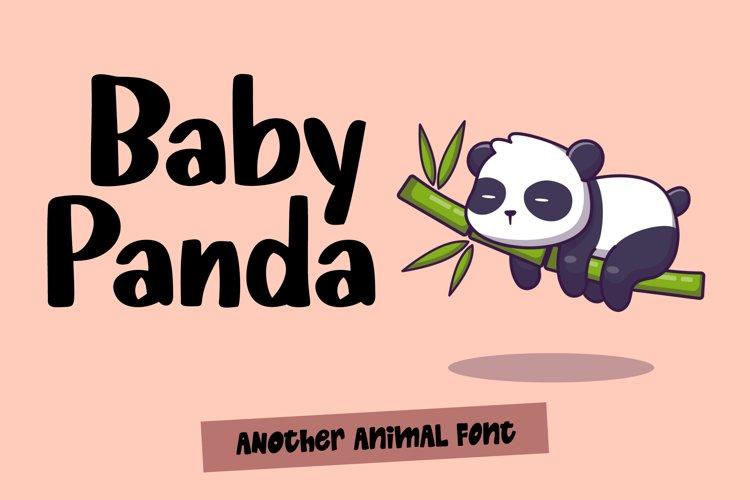Baby Panda example image 1