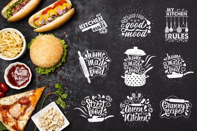 Inspirational Food Typography.
