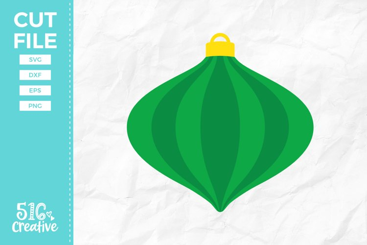 Christmas Ornament SVG DXF EPS PNG example image 1