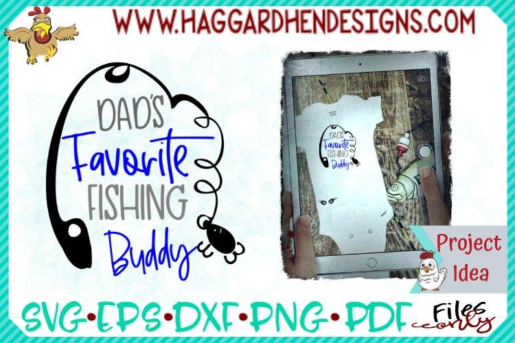 Dad's Favorite Fishing Buddy example image 1