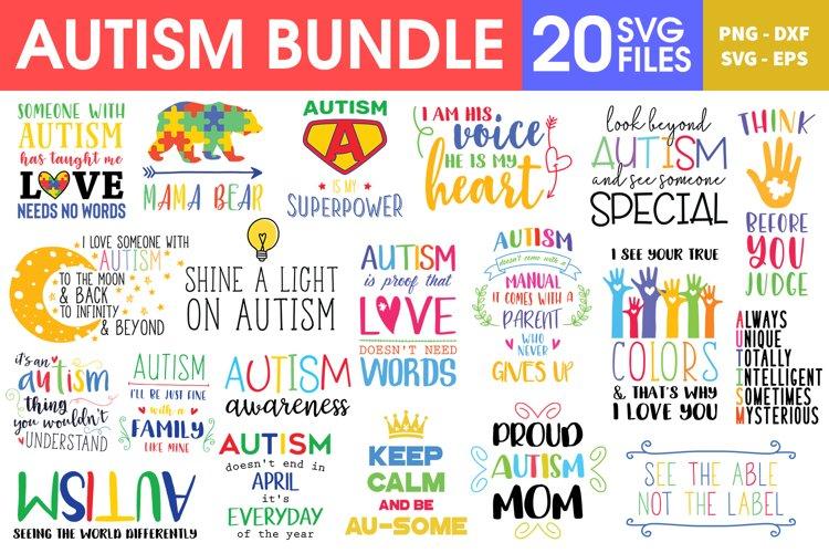 Autism SVG Bundle, Autism Quotes SVG