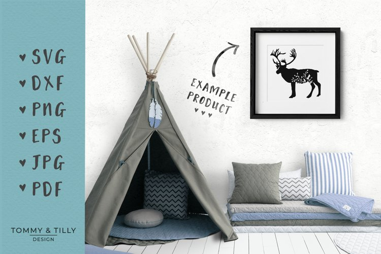 Animal Silhouettes Mega Bundle - SVG DXF PNG EPS JPG PDF Cut - Free Design of The Week Design9