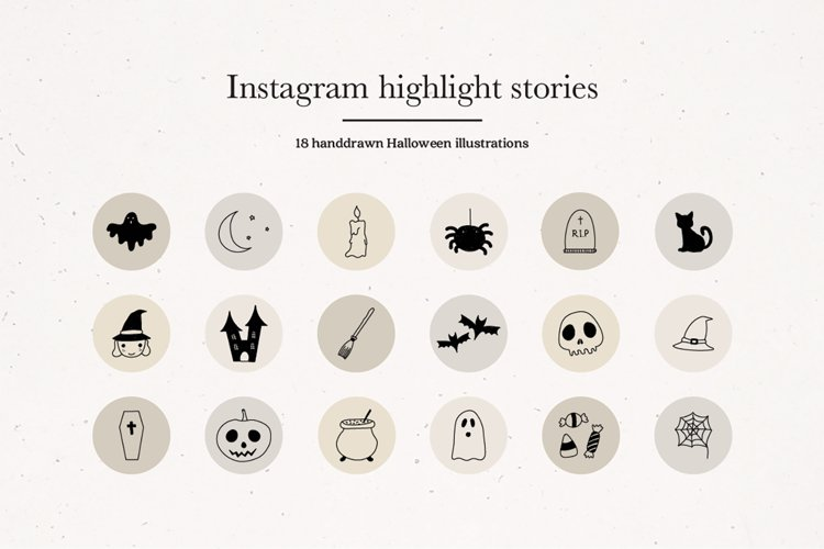 Instagram Halloween Story Highlights Icons Covers example image 1
