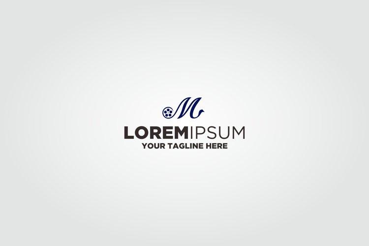 Letter M Roll Film Logo example image 1