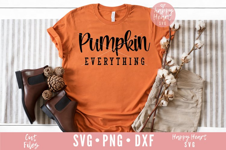 Pumpkin Everything SVG example image 1
