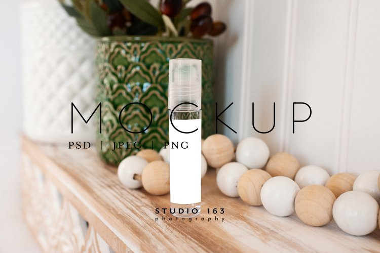10ml Roller Mockup, Essential Oils, Label Mockup, PSD JPG example image 1