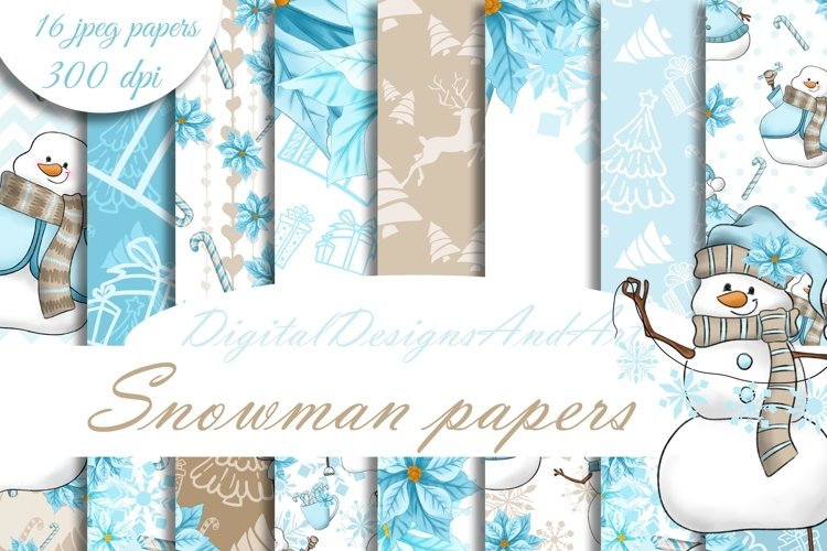 Snowman patterns example image 1
