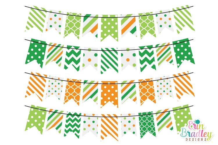 St. Patricks Day Bunting Clipart