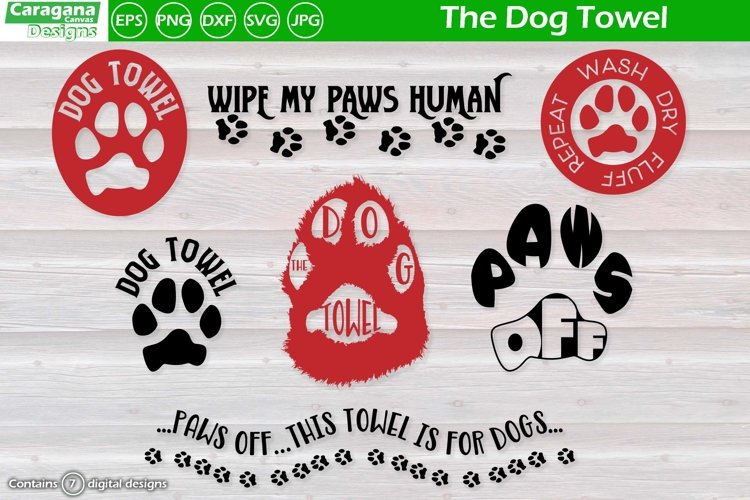 The Dog Towel example image 1