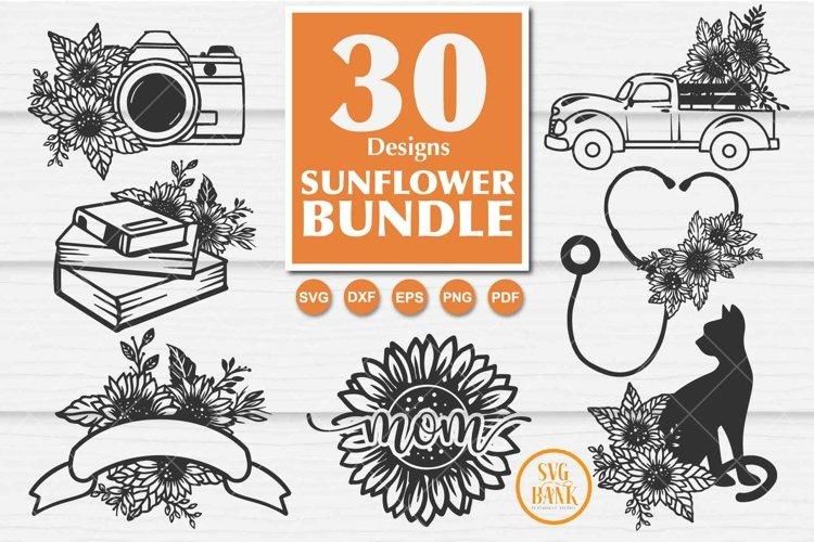 Best seller Sunflower SVG Bundle of 30 Designs