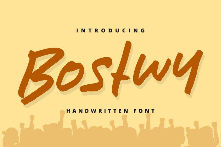 Bostwy example image 1