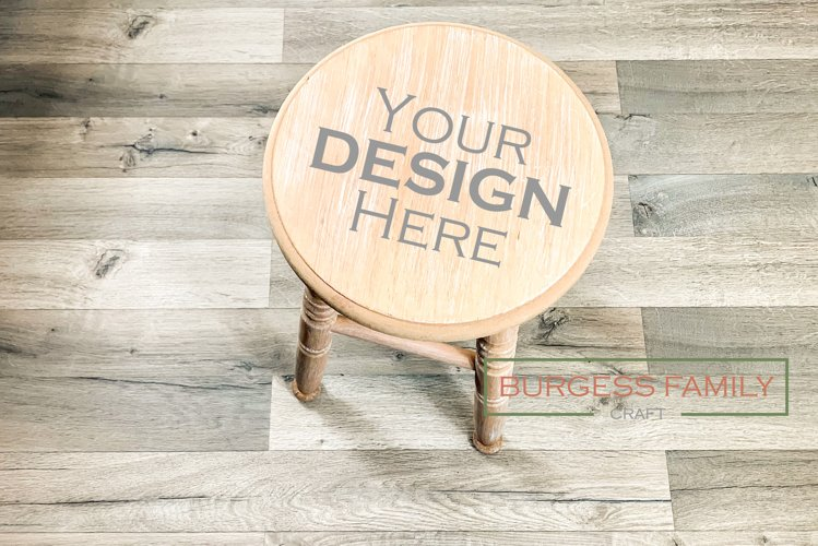 Time out stool | Craft mock up