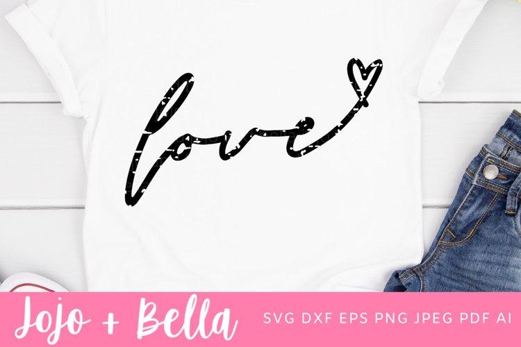 Love Svg | Valentines Day SVG | Love Shirt Svg example image 1