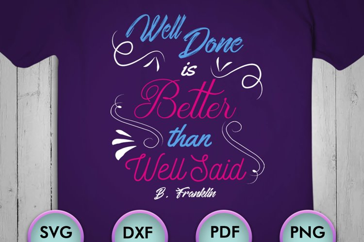 Motivational quotes SVG Design for Crafters, embroidery, example image 1