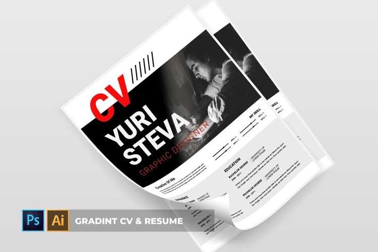Gradint | CV & Resume example image 1