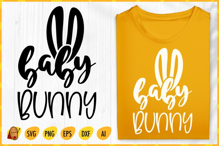 Baby Bunny SVG - Easter SVG - Baby Quotes SVG - Bunny SVG example image 1