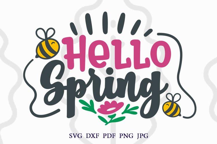 Spring svg, Hello Spring svg, Welcome spring svg, dxf, png
