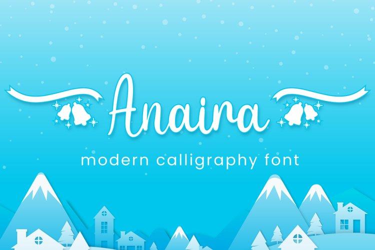 Anaira - Christmas Font example image 1