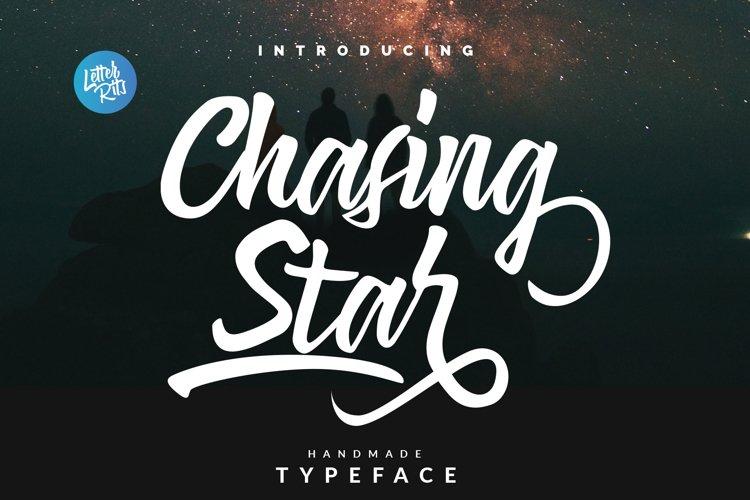 Chasing Start Font