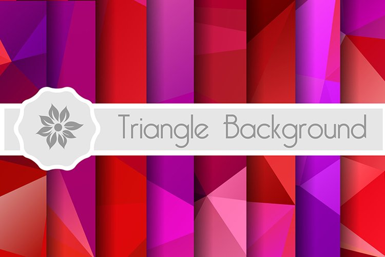 Polygonal background for craft example image 1