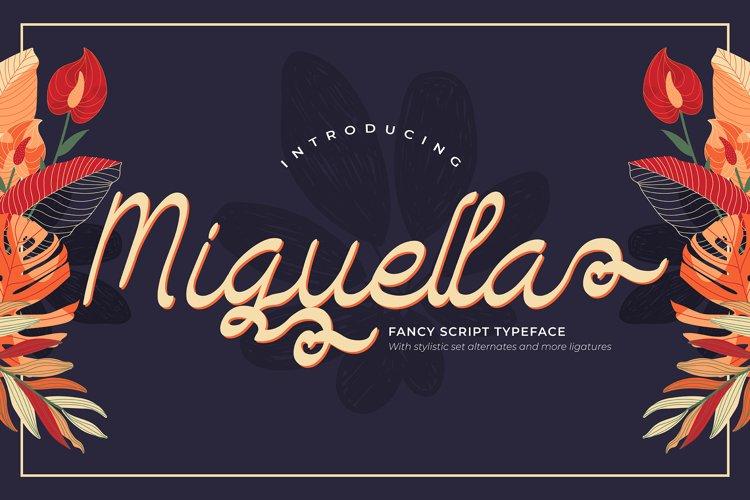 Miguella | Fancy Script Typeface example image 1