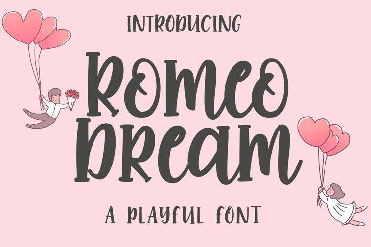 Romeo Dream example image 1