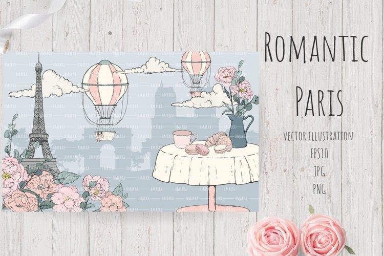 Romantic Paris Card#11