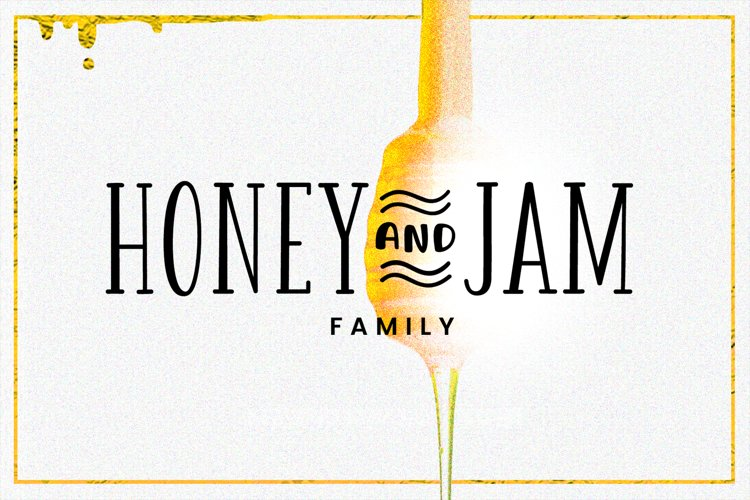 Honey and Jam Family example image 1