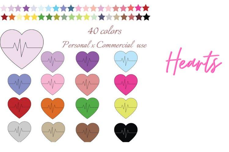 Heart beat clipart, Heart clipart, Heart clip art, Health example image 1