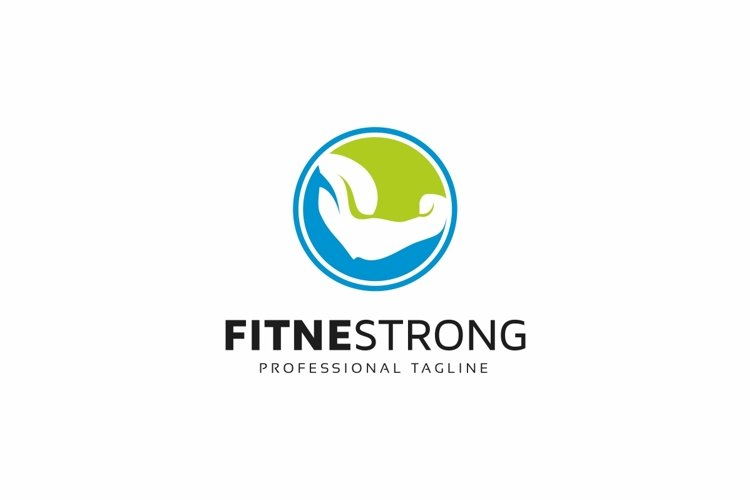 Fitness Strong Logo example image 1
