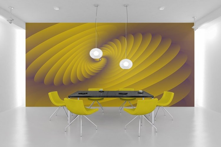 3d Abstract Spiral Modern Background Wallpaper example image 1
