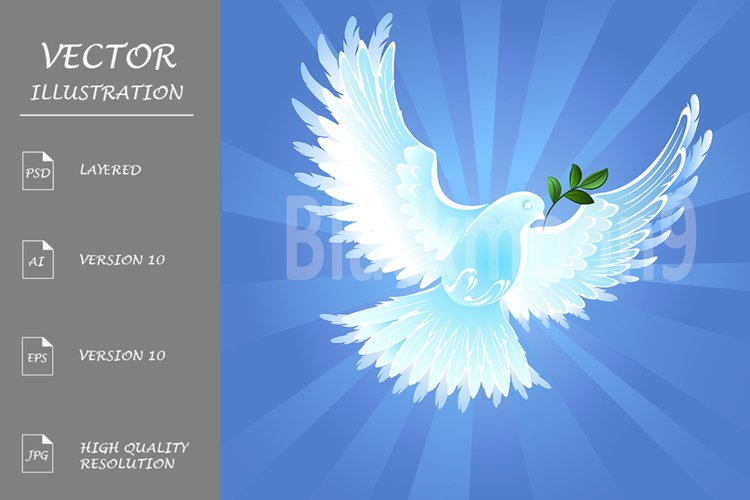 Dove of Peace example image 1