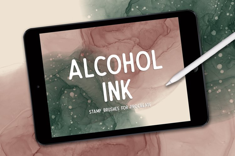ALCOHOL INK STAMPS FOR PROCREATE example image 1