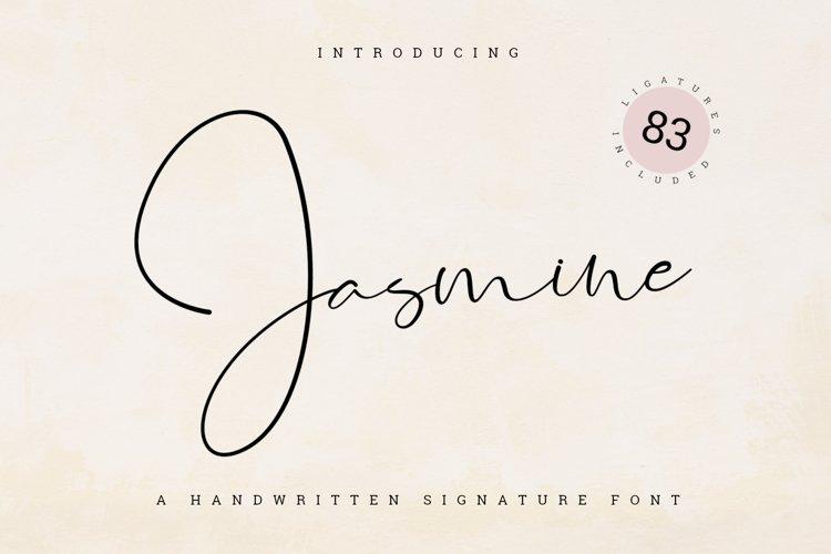Jasmine Signature example image 1
