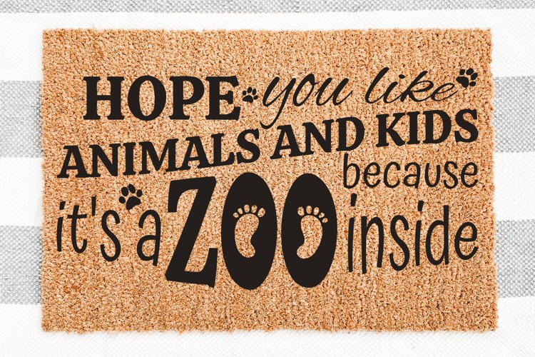 Hope You Like Animals And Kids Because It's A Zoo Inside SVG example image 1