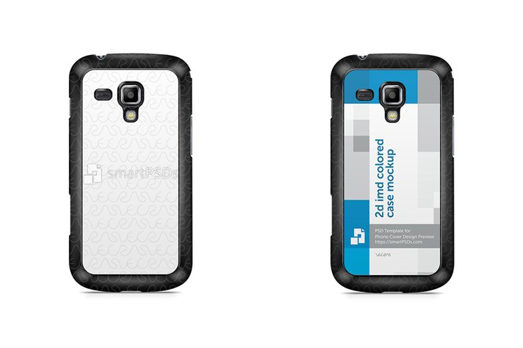 Samsung Galaxy Trend Plus 2d IMD Colored Clear Mobile Case example image 1