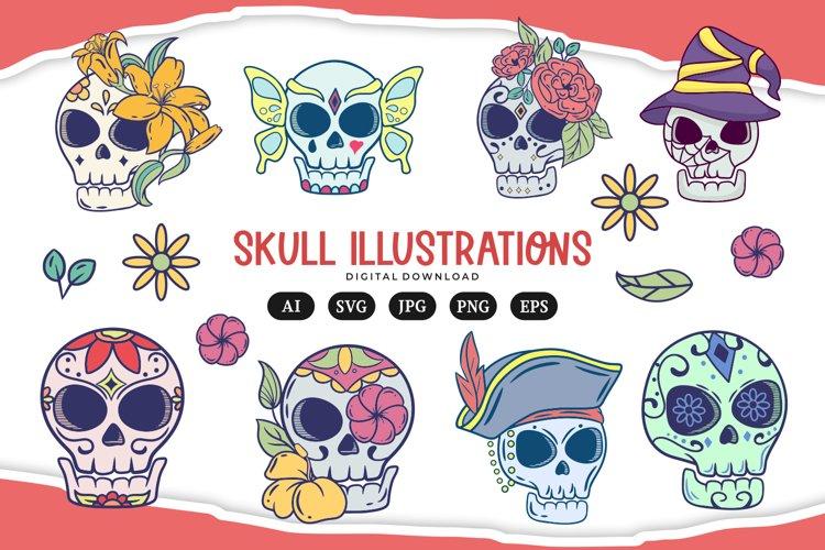 Skull Illustrations