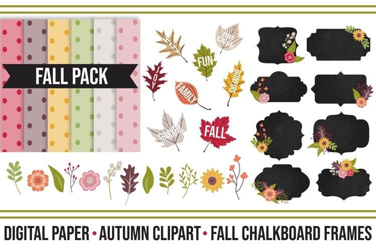 Fall Festive Digital Clipart Pack