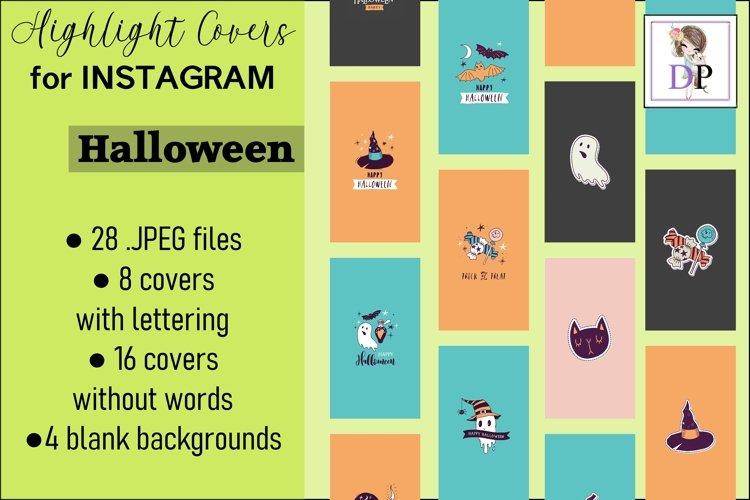 Instagram Story Covers Halloween