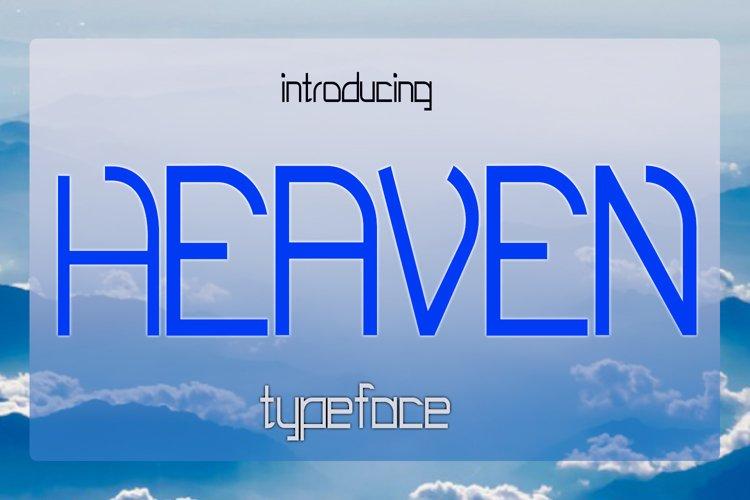 EP Heaven - Elegant Font example image 1