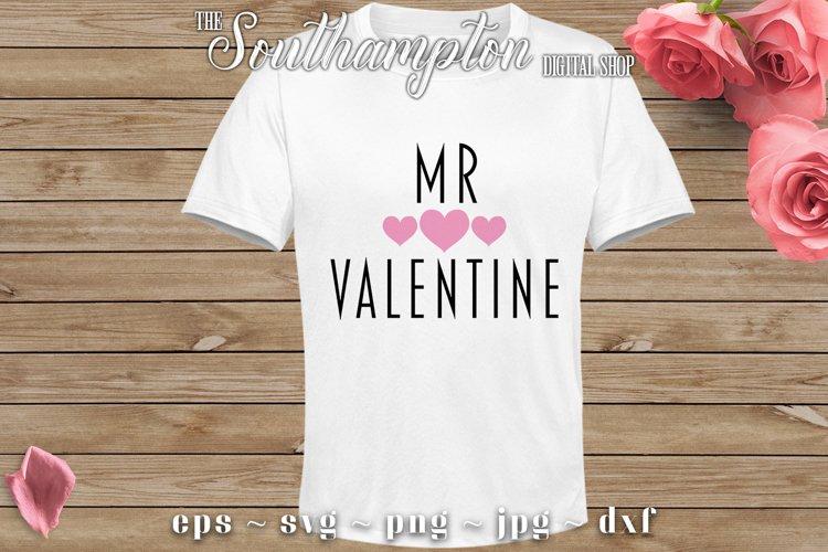 Mr Valentine SVG Cut Files example image 1